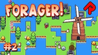 Farming, Milling & Trading In Forager! | Let's Play Forager Gameplay Ep 2 (alpha 5)