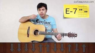 TUTORIAL OASIS Ritmo de guitarra WONDERWALL OASIS FACIL acústica o criolla