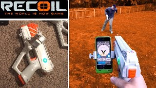 Recoil Laser Tag - Gameplay #5 1vs1 - How Recoil Works! | TanMan321Go