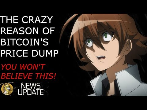 Bitcoin Price Dump Explained - You Won't Believe The Crazy Reason!