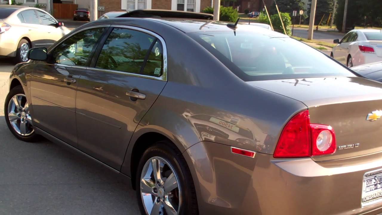 2010 Chevrolet Malibu 4dr LT With Sunroof Sycamore IL Near Dekalb IL.    YouTube