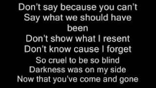finger eleven stay in shadow lyrics