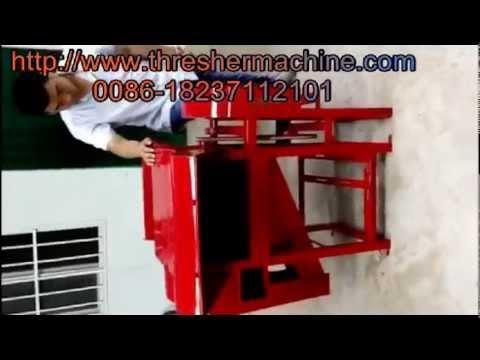 how to make thresher machine