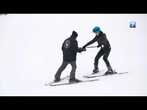 Обучение катанию на горных лыжах (обучающие видео