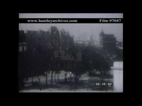 Rio de Janeiro, Brazil in the 1920's.  Archive film 97047