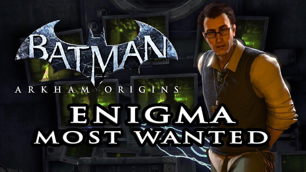 Batman Arkham Origins Enigma Incl Secret Room Most
