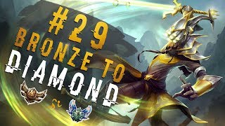 The ULTIMATE Low Elo STOMPER | Depths of Bronze to Diamond Episode #29 | Master Yi Jungle