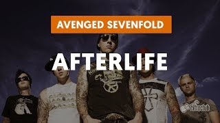 Afterlife - Avenged Sevenfold  (aula de guitarra)