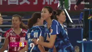 2017-2018 China Volleyball League  20th Round YUAN Xinyue Highlights