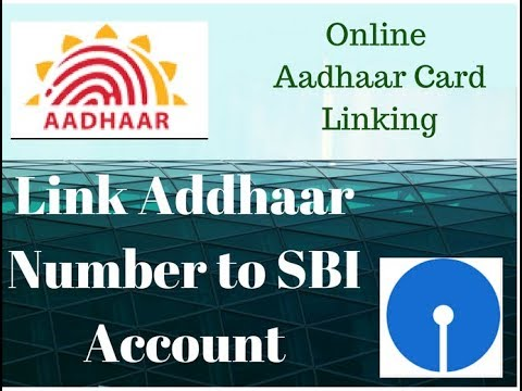 How to Link Aadhaar Card Number with SBI Bank account