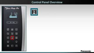 Panasonic Microwave Oven NNSE284 - Control Panel Overview