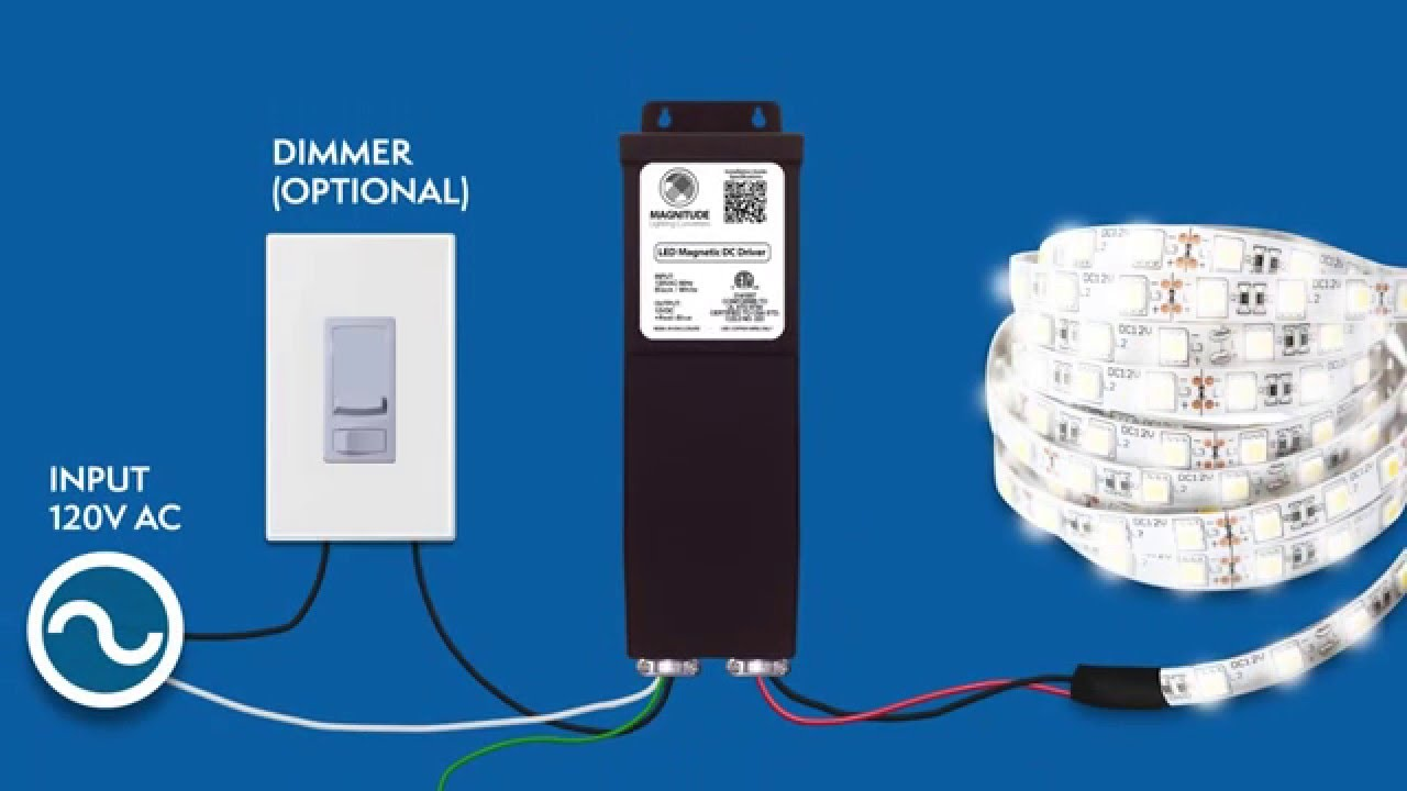 small resolution of 12vdc 100 150w magnetic dimmable led driver installation guide