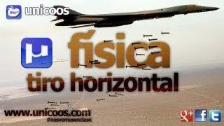 FISICA Tiro horizontal 01 BACHILLERATO MRUA MRU