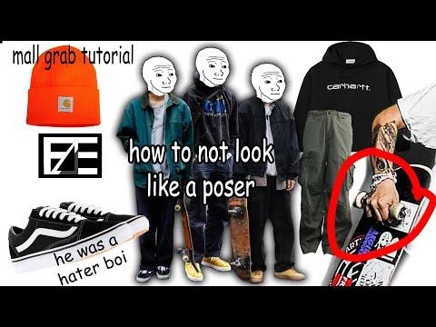 HOW TO DRESS LIKE A SKATER BOI