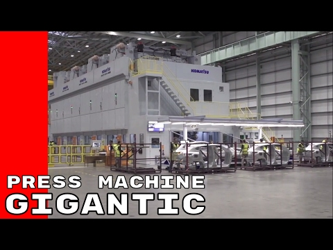 Nissan Extra Large Gigantic Press Machine