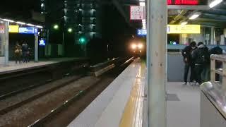 京急2100型大森海岸高速通過シーン