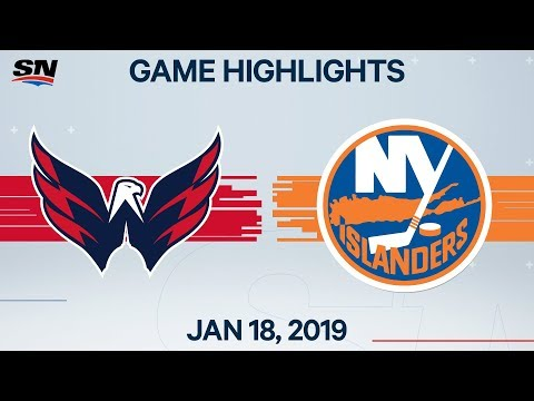 NHL Highlights | Capitals Vs Islanders – Jan. 18, 2020