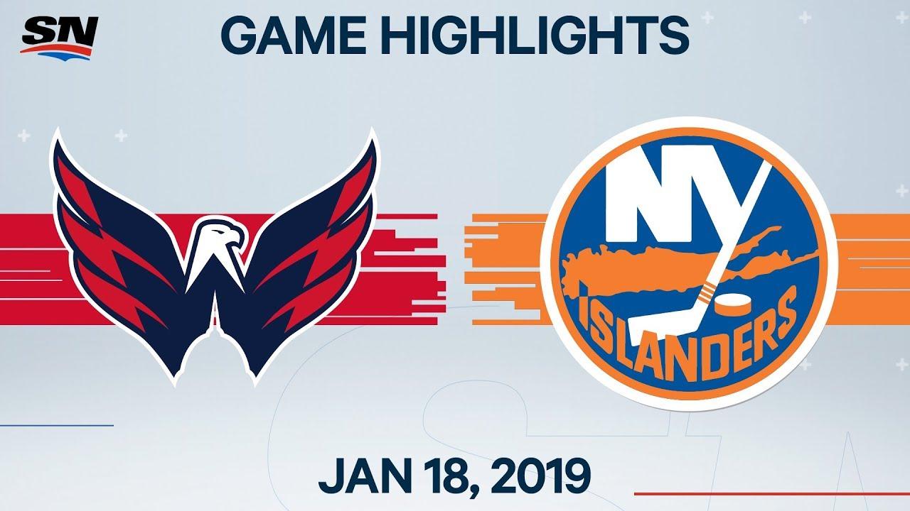 NHL Highlights | Capitals vs Islanders – Jan. 18, 2020