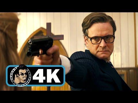 KINGSMAN: THE SECRET SERVICE Movie Clip - Church Massacre |4K ULTRA HD| Colin Firth Action 2014