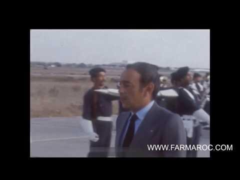 FAR-MAROC : Feu SM Hassan II Rend Hommage à L'équipage Du Boeing 727 CN-CCG De La RAM