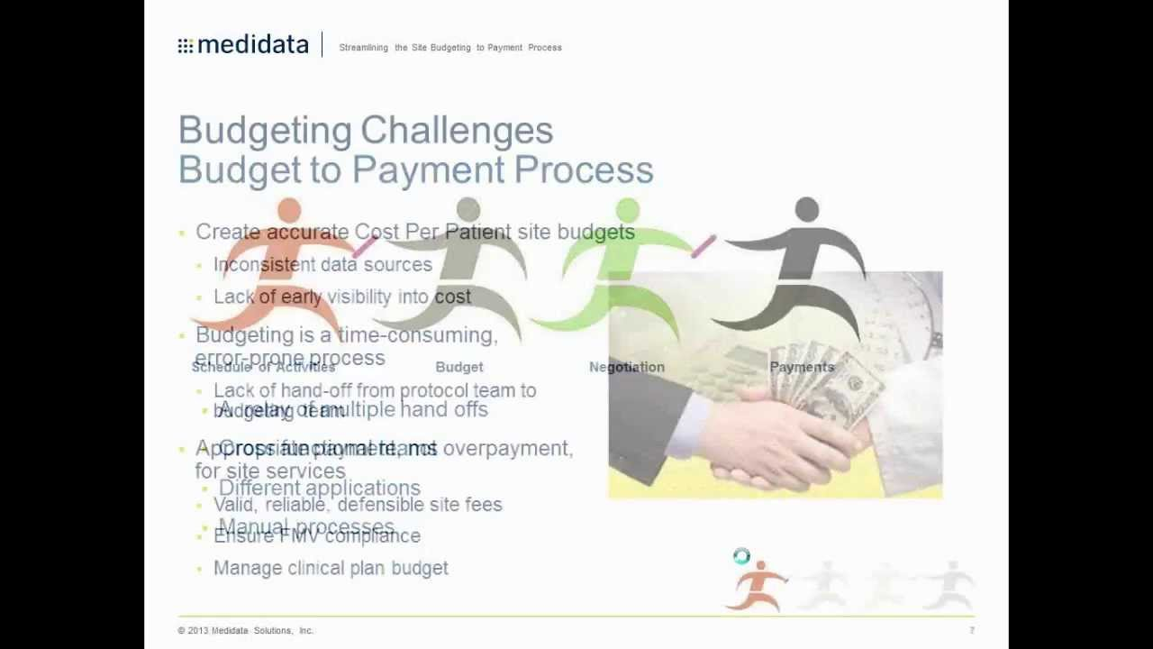 streamlining the site budgeting and payment process youtube