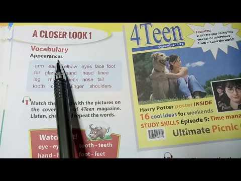 Hướng dẫn học Tiếng Anh lớp 6 Unit 3 - Closer look 1 / HeartQueen Quyên Hoàng
