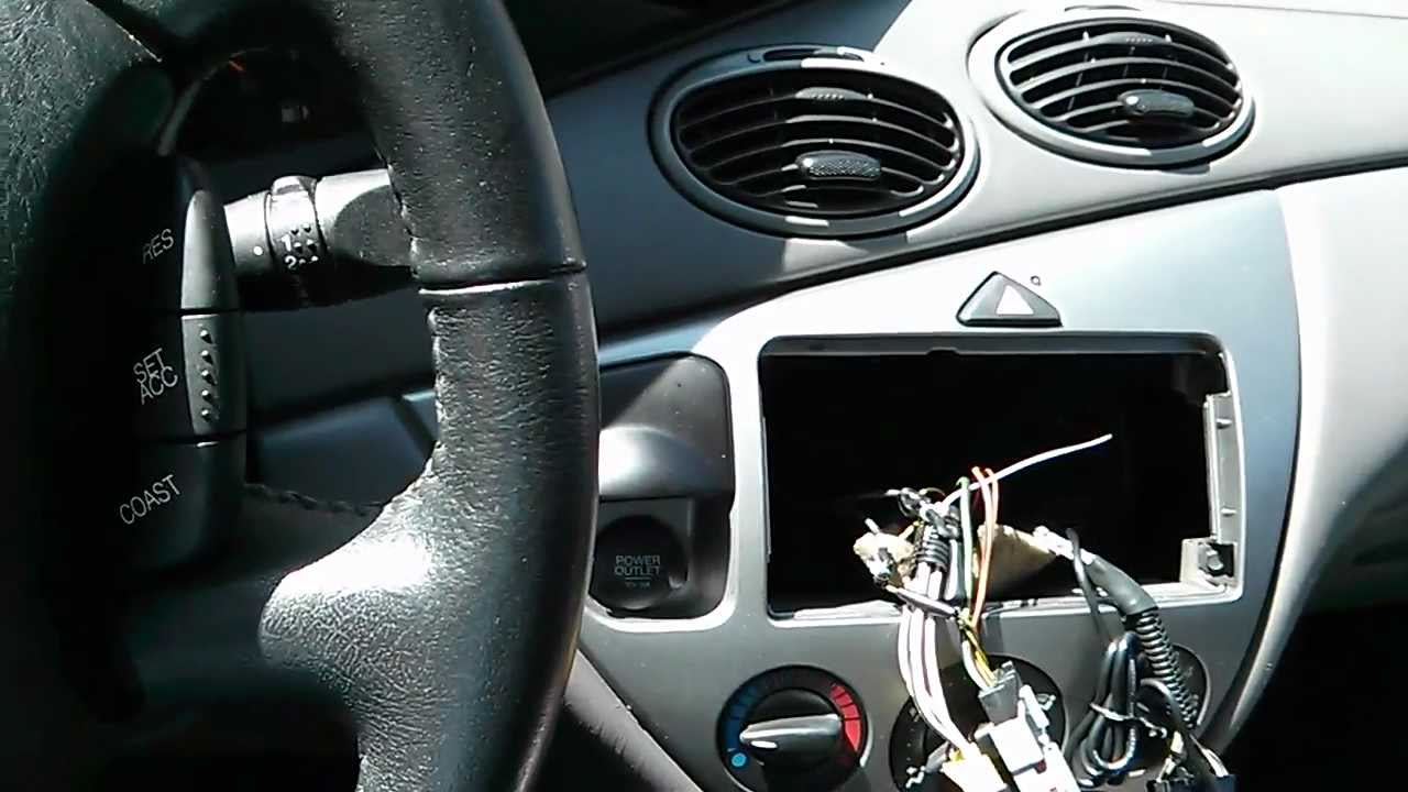 Install Bluetooth Stereo In Your Ford Focus Youtube 2002 Contour Fuse Box