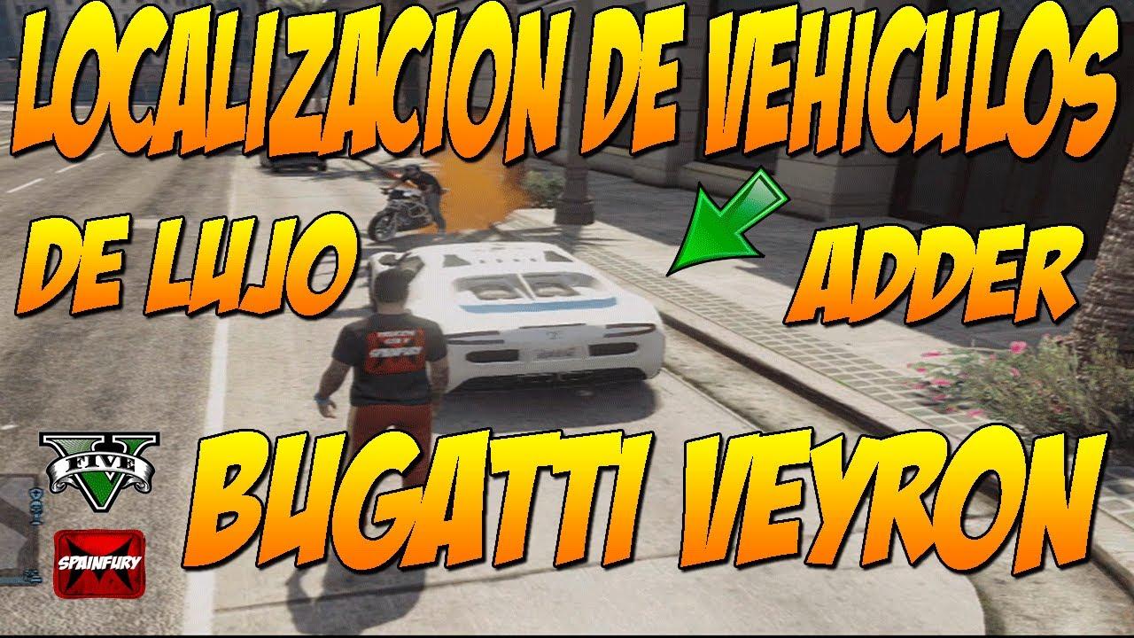 Gta V Online Donde Localizar Vehiculos De Lujo En Gtav
