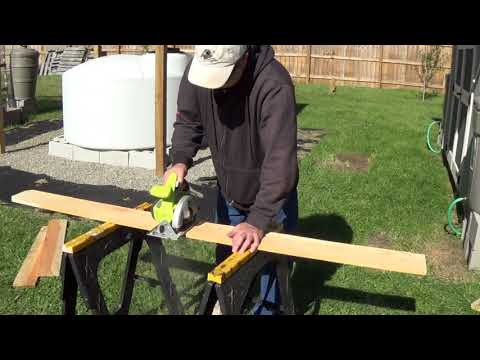 Building Raised Beds with Cedar Fence Panels