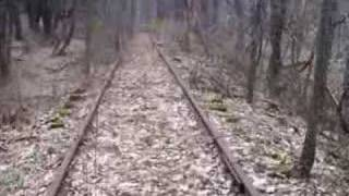 Abandoned Railine for Rails to Trails Pennsylvania Railroad Harrison City Manor Pennsylvania