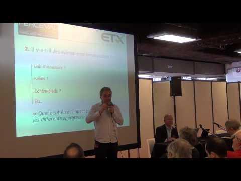 Conférence de Jean-Louis Cussac: Approches de trading en intraday, court, moyen et long terme 1/3