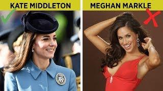 İngiliz Kraliyet Ailesi Kurallarını İhlal Etti (Prenses Meghan Markle) Video