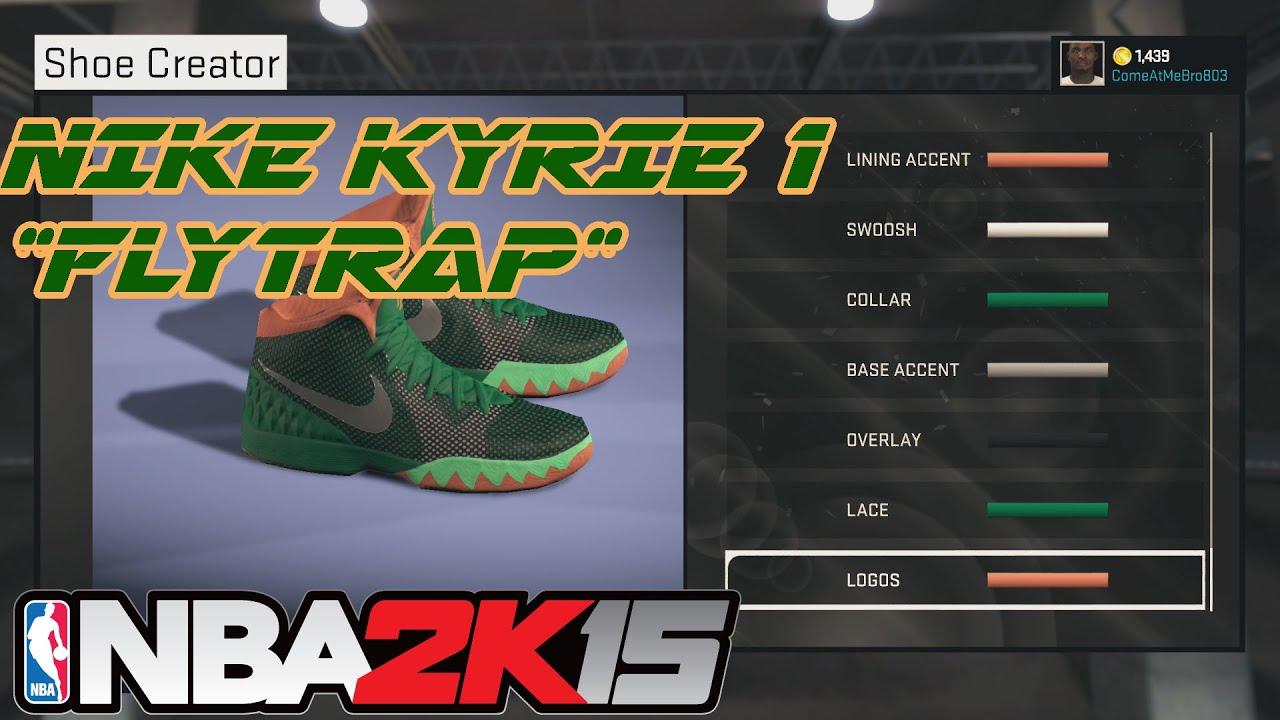 sale retailer ad249 af1cd NBA 2K15 Shoe Creator   Nike Kyrie 1 Flytrap   Xbox One PS4