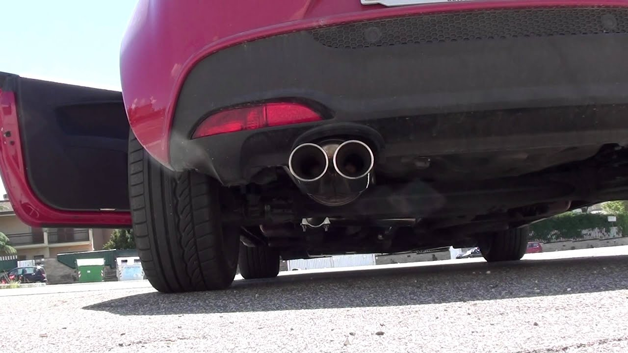 Alfa romeo mito exhaust sound 14
