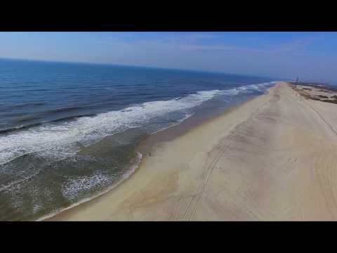 Robert Moses Beach Drone