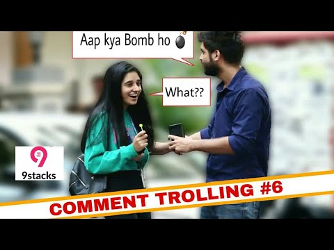 AAP Kya bomb ho Prank😍 | DIWALI SPECIAL | Comment trolling | Pranks In India | Pranks 2018