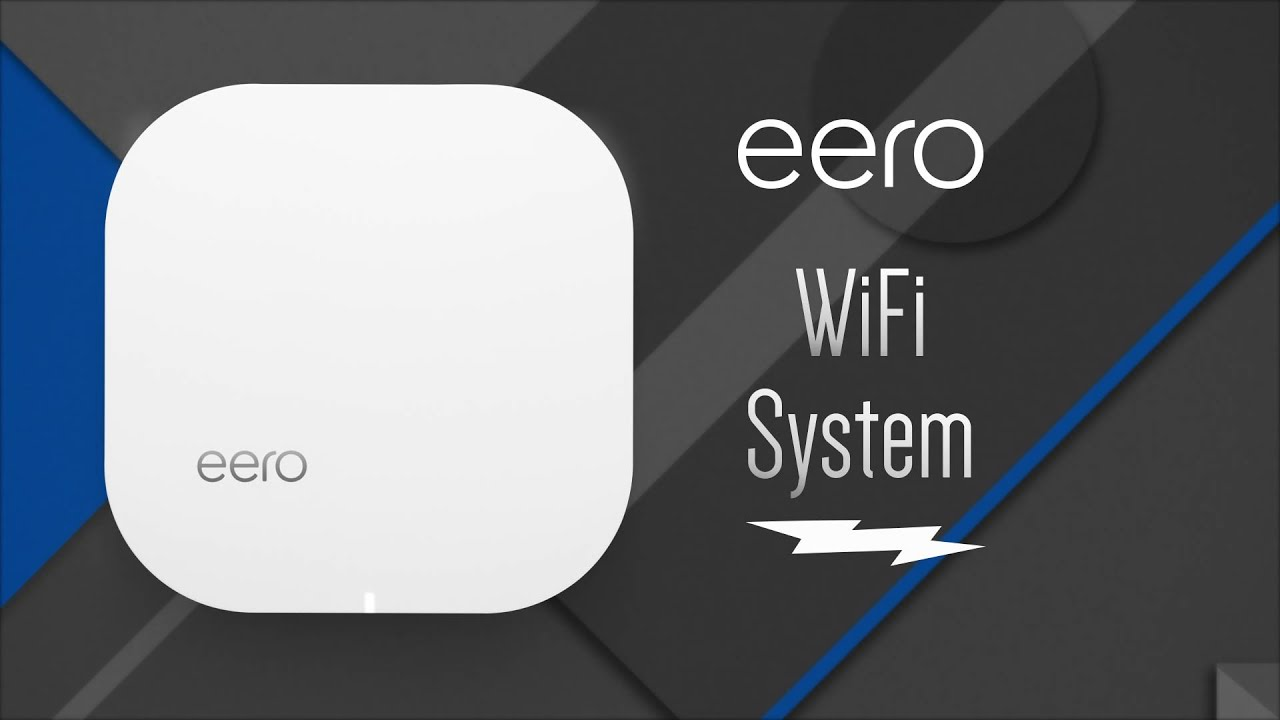 eero home wi fi systems overview youtube