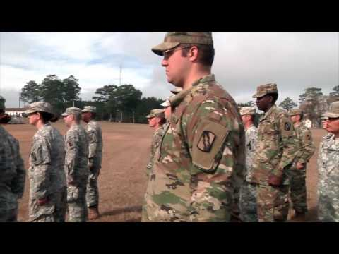 CAMP SHELBY: 1-15-17. MS National Guard Is Now an ARMY w/ New Commander & Designation.