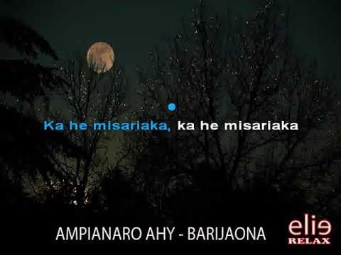 ElieRelax  KARAOKE   Ampianaro Ahy   Barijaona