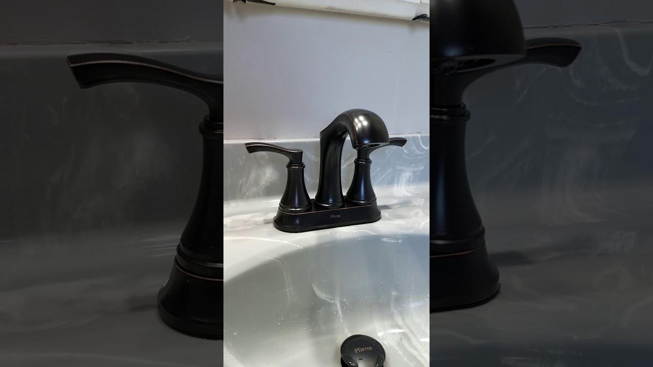 Phister Auden bathroom faucet - YouTube