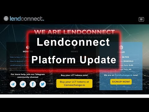 Lendconnect - Lending Platform Update