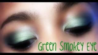 Smoked Green Eye Tutorial!! Thumbnail