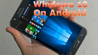 How To Install Windows 10/8/7/XP on Android[Fastest PC Emulator for Android  phone]