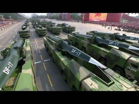 China's massive military parade reflects 'US war plan'