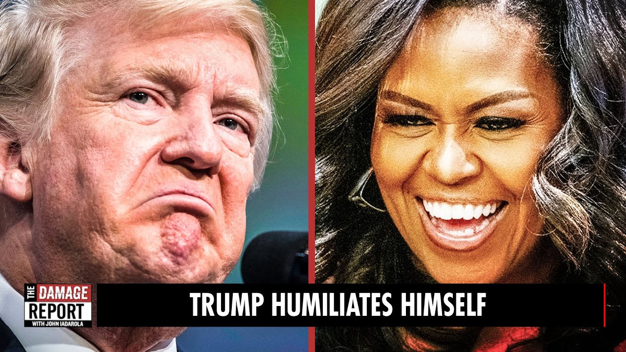 Trump CRIES Over Michelle Obama's Speech