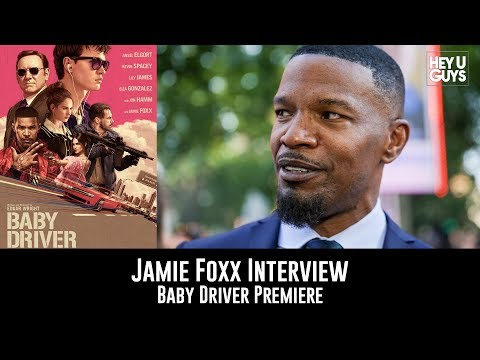 Jamie Foxx Baby Driver UK Premiere Interview