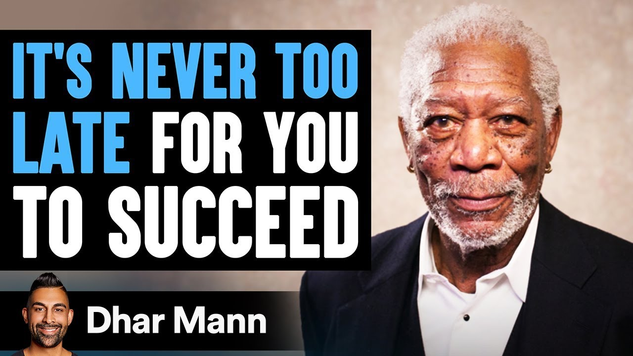 Why It's Never Too Late For You To Succeed | Achieving Your Dreams - Dhar Mann