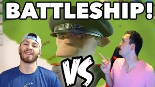 "Hammerman ""BATTLESHIP"" Challenge w/ nickatnyte! 