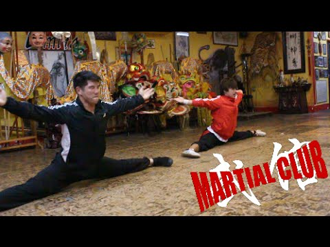 KUNG FU TRAINING IN CHINA!! (Martial Club Vlog)