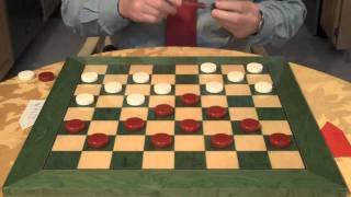THE OLD FOURTEENTH OPENING...CHECKERS AND DRAUGHTS